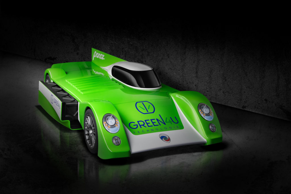 Panoz working on an electric endurance race auto, the GT-EV