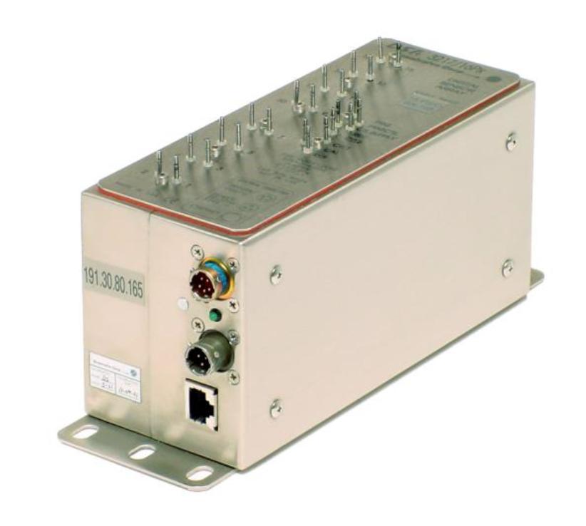 Gas turbine test pressure scanning