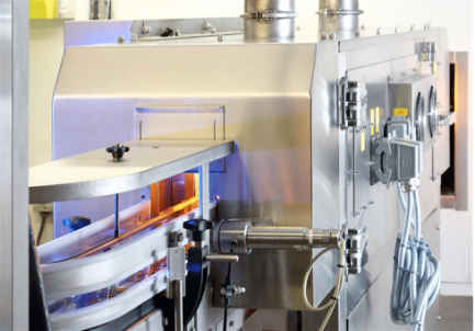 Carbon infrared oven