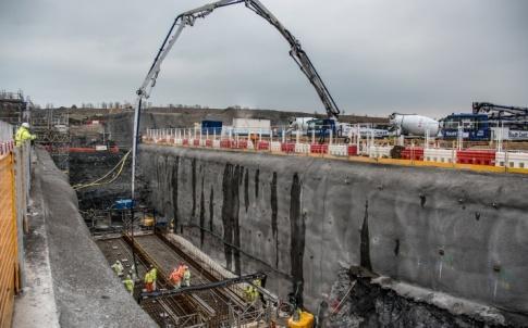 hinkley c concrete pour
