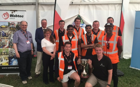 Winners of IMechE's Railway Challenge 2017