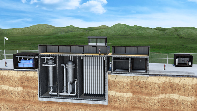 U-Battery plant