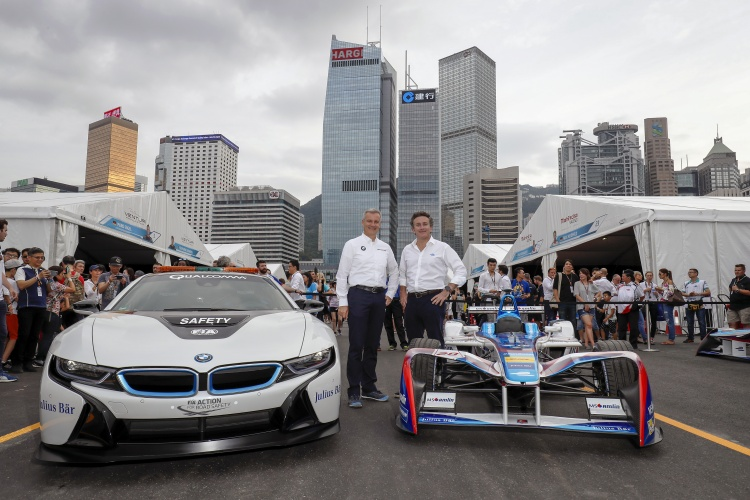 BMW commits to 2018 Formula E with Andretti Autosport