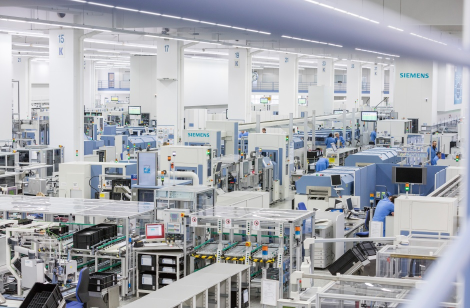 Siemens digital factory digitalisation