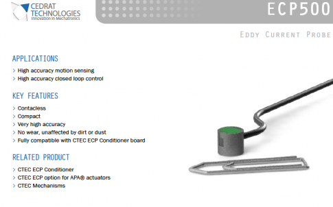 Eddy current probe