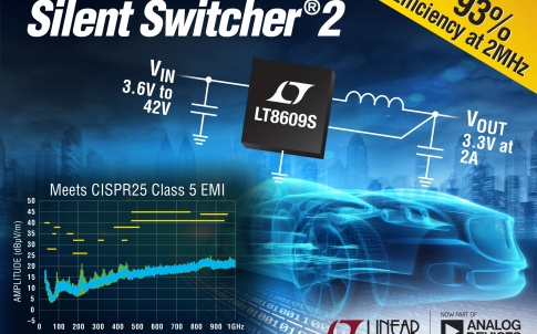 Synchronous Step-Down Silent Switcher 2