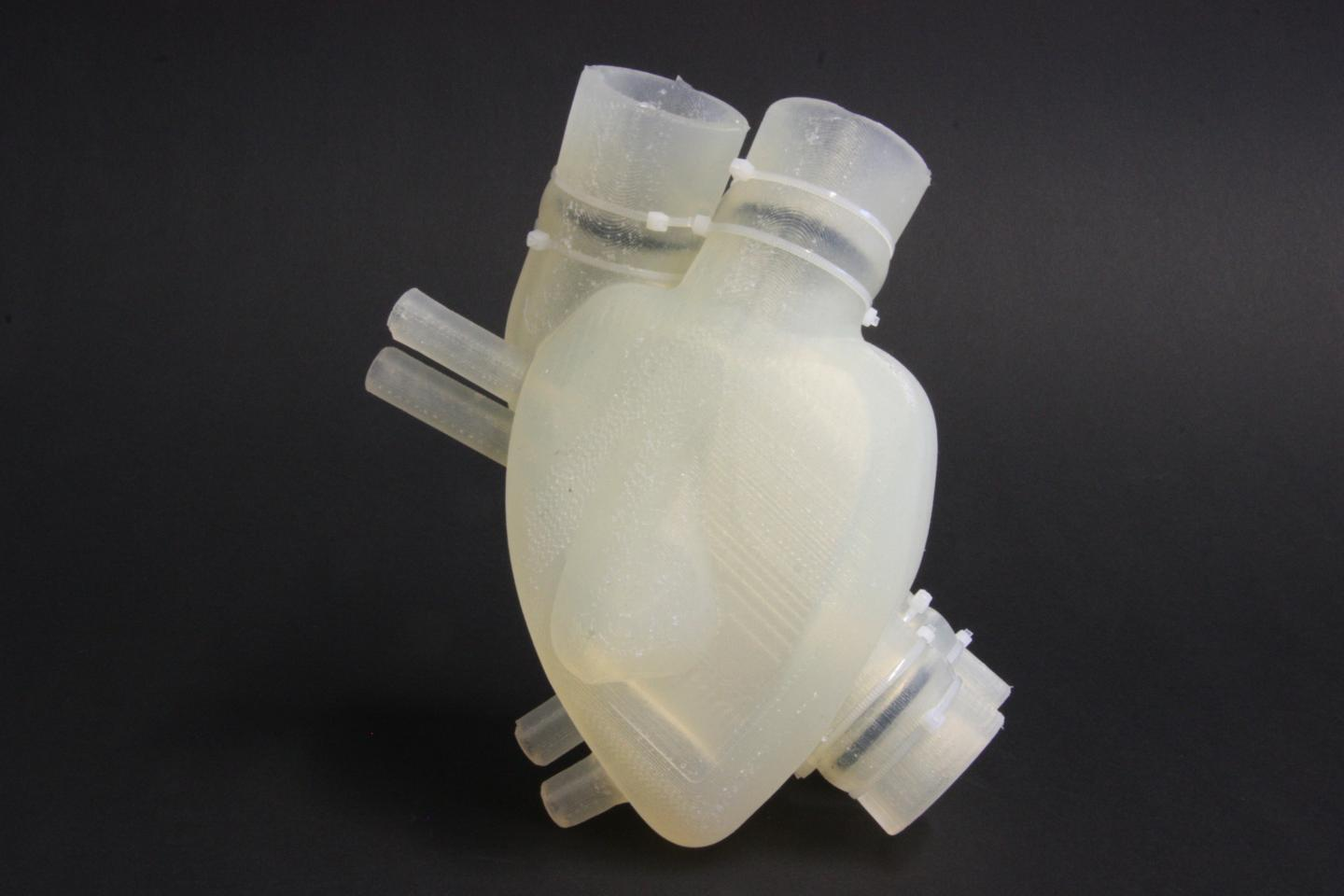 Soft artificial heart completes initial trials in Swiss