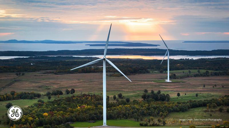 ge 2.5MW wind turbine manitoulin island