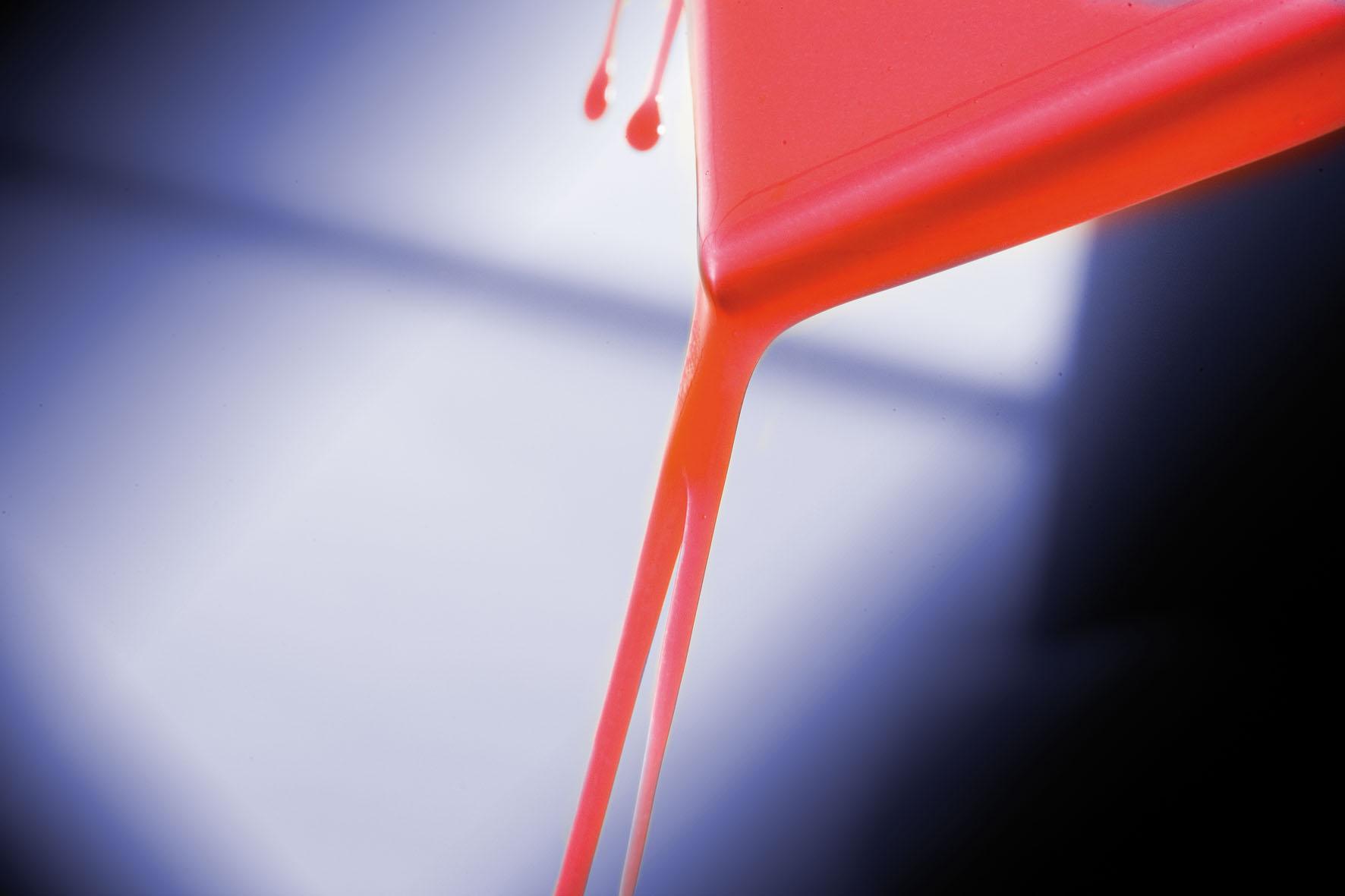Rheology of coatings: flow point determination