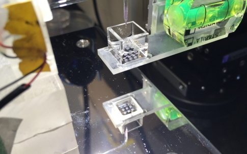 3D droplet bioprinter (credit Sam Olof/ Alexander Graham)