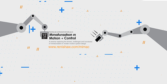 Miniaturisation in motion and control seminar