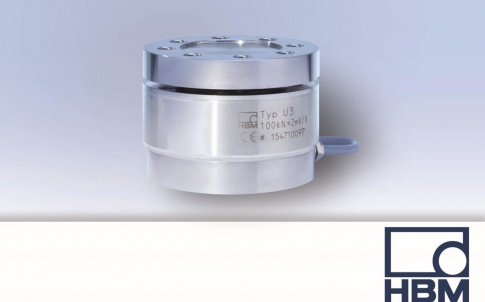 Load cell for tensile and compressive forces