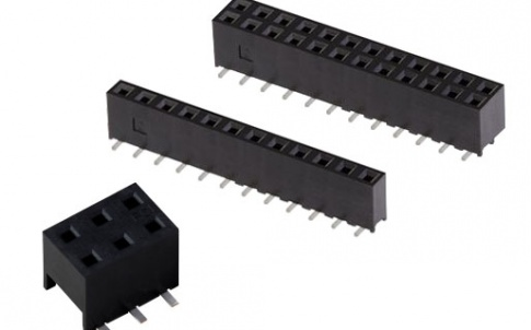 Receptacles enable connections between PCBs, wires and flat cables