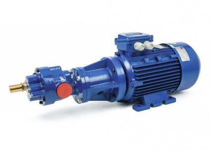 Gear pumps for the handling of viscous fluids