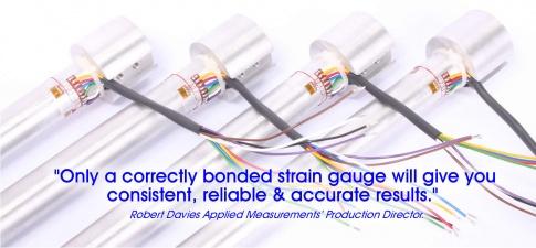 Strain gauge bonding