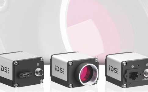 Industrial camera with GigE or USB 3.1 Type-C connection
