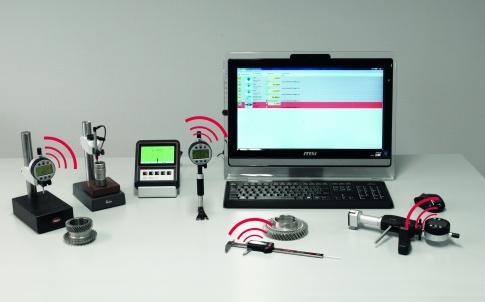 Wireless gauging technology