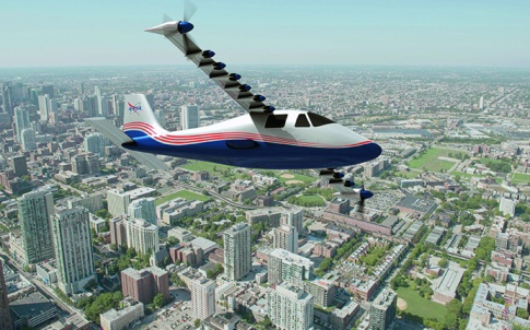 electric aircraft propulsion 1