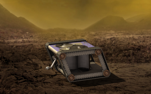 Venus mechanical rover