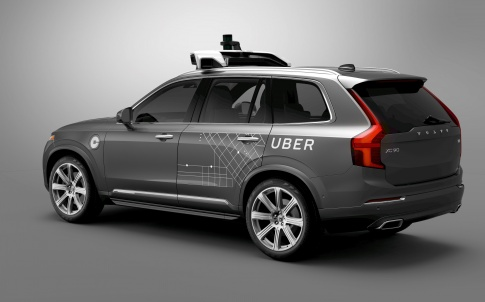 Uber buys 24000 Volvo SUVs to build driverless taxi service