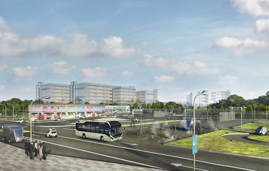 Volvo's first driverless buses to be tested in NTU centre in Singapore