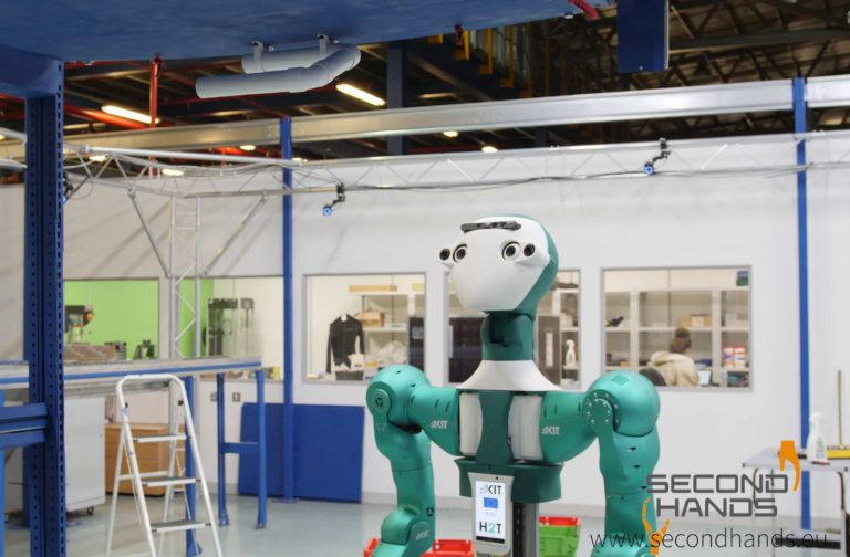 Humanoid collaborative robot joins workforce at online ...