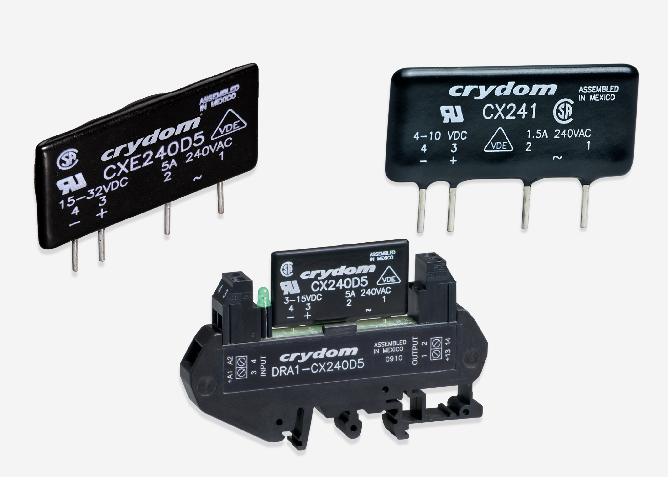 Solid State Relays From Sensata Crydom The Engineer Relay 240v Ac