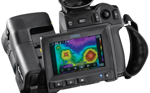 Camera offers high thermal sensitivity