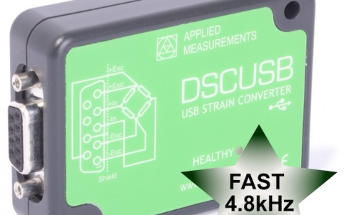 ultra-fast USB load cell