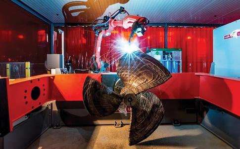 3D printed marine propeller