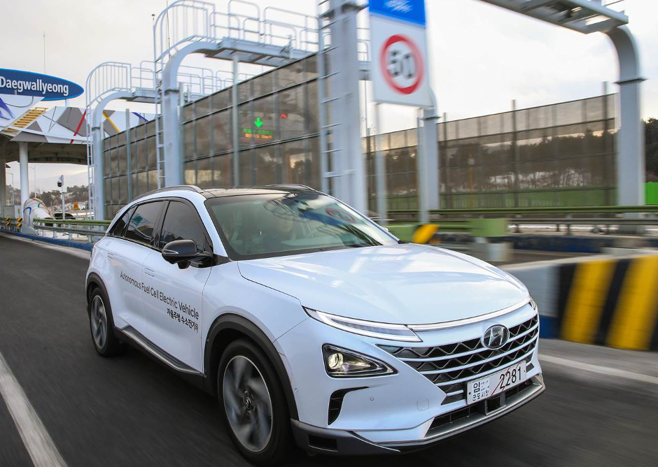 Hyundai reveals world-first driverless fuel cell vehicle