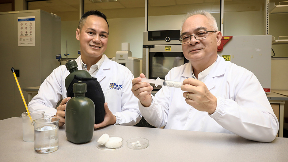 Waste cotton fabric used to fabricate affordable aerogels that control haemorrhaging