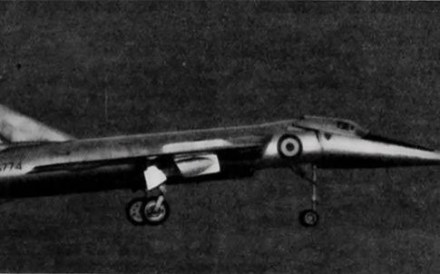 supersonic jet Fairey Delta 2