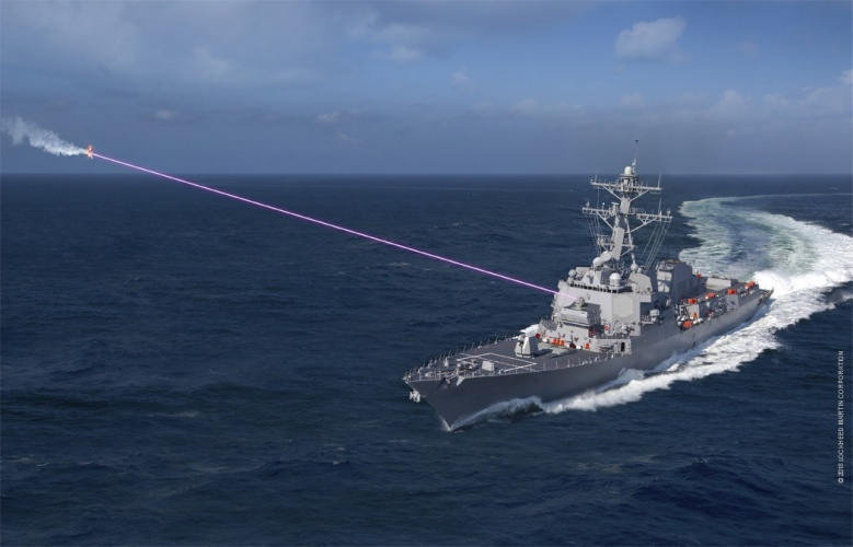 Navy Buys Lasers to 'Dazzle' Drones, Take Out Small Boats