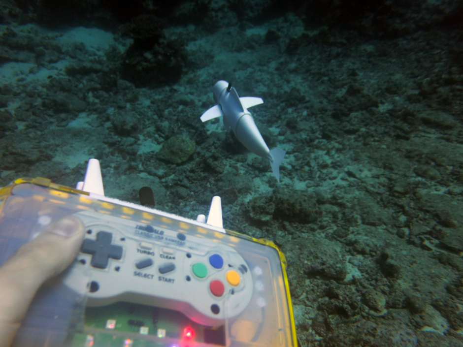 SoFi soft robotic fish (MIT CSAIL)