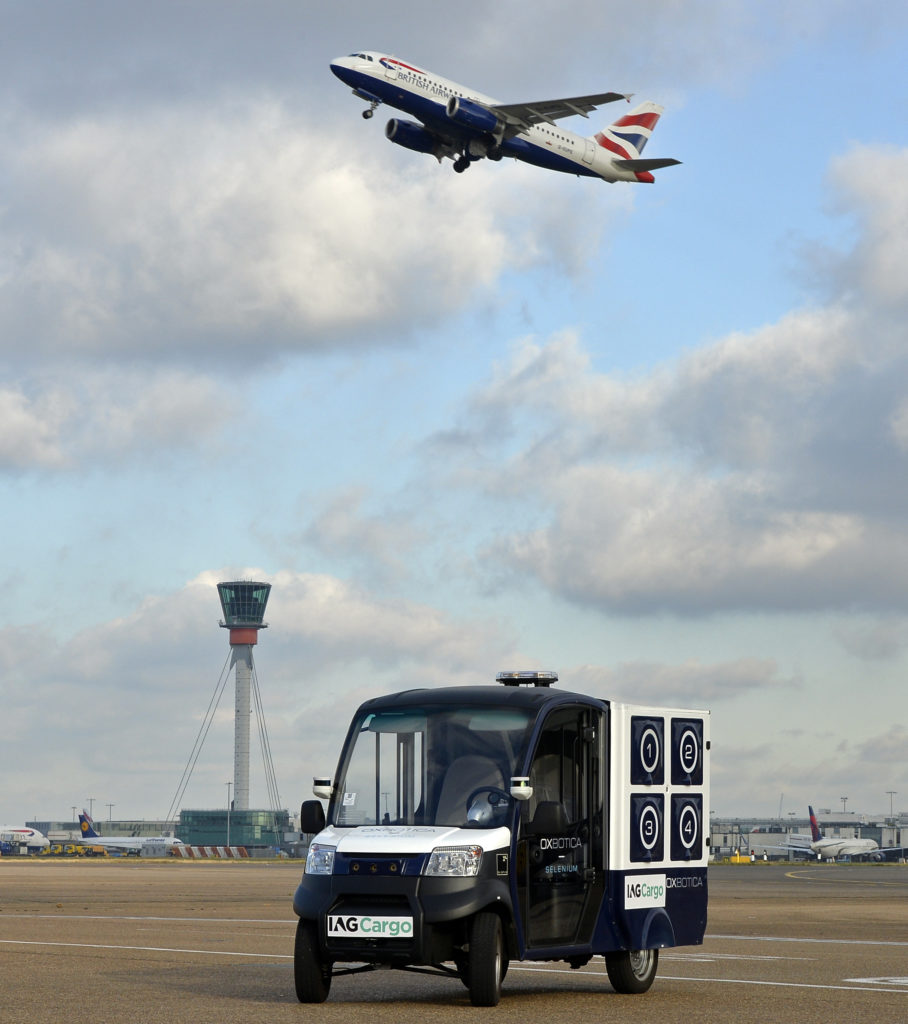 autonomous airside vehicle