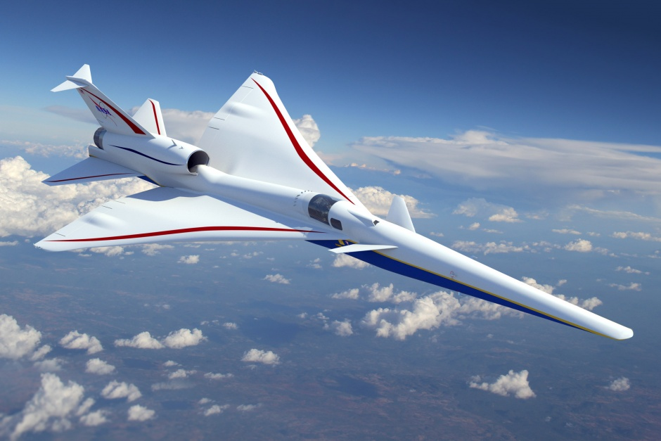 Lockheed Wins NASA Contract to Build Low-Noise Supersonic Jet