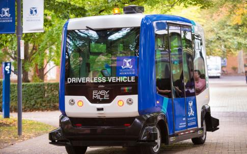 autonomous vehicle hub