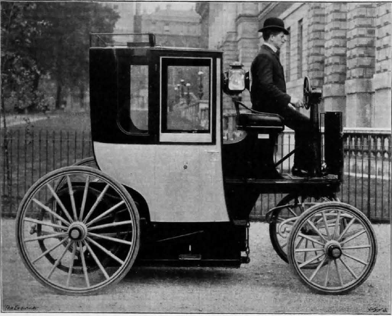 London Electrical Cab