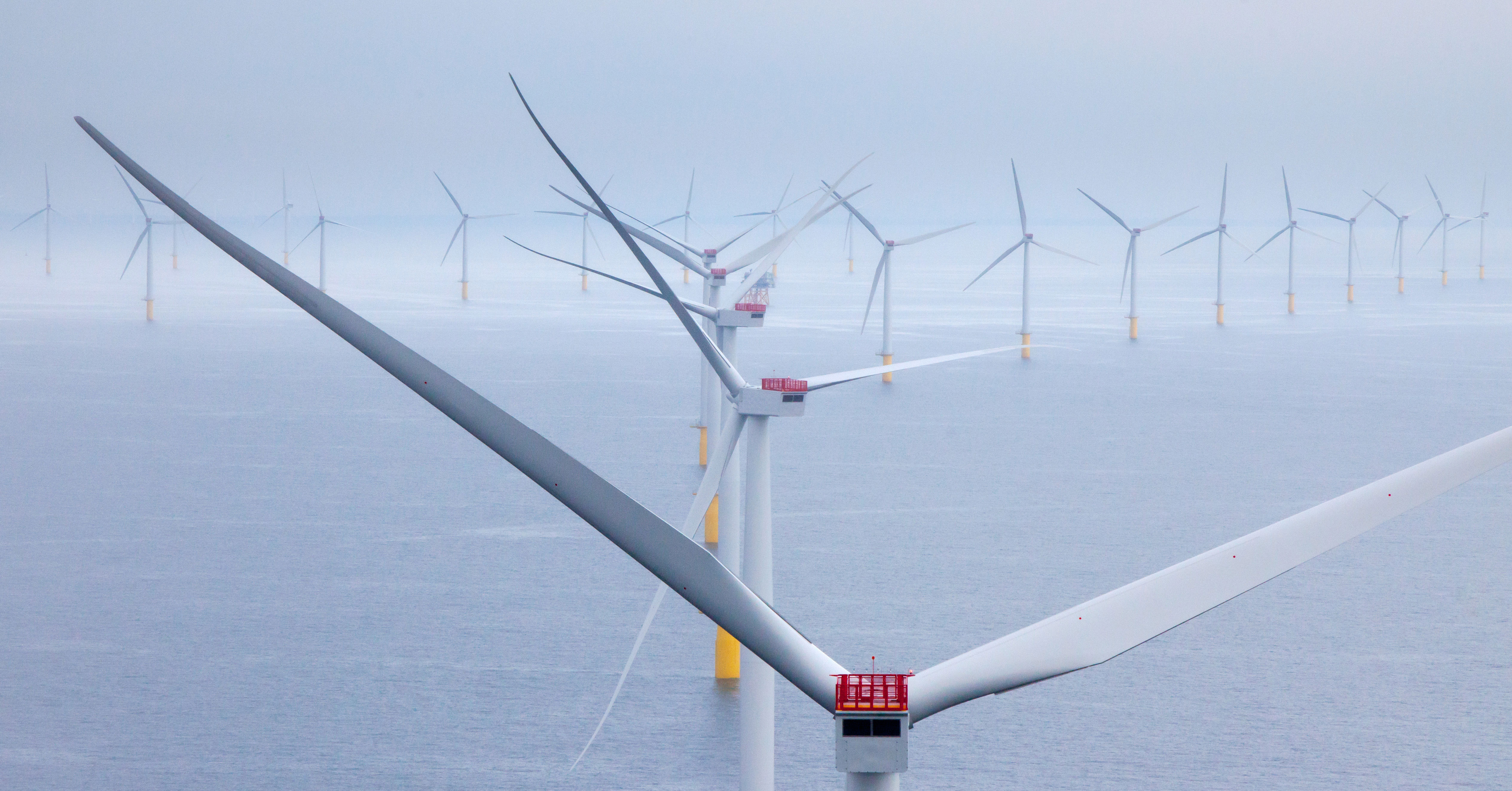 World's largest offshore wind farm opens off northwest England