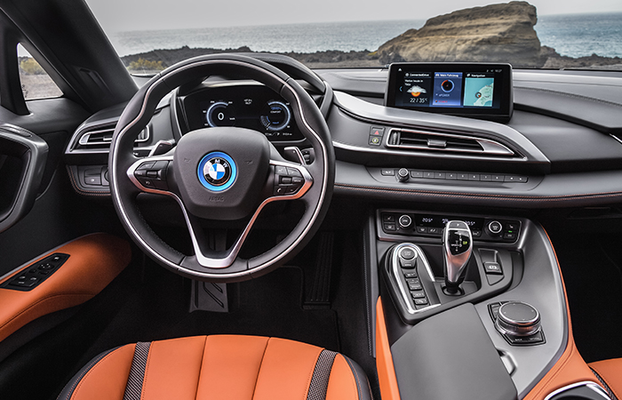 refreshed BMW i8