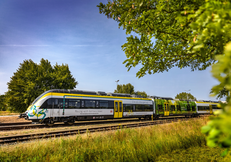 World's first hydrogen fuel cell-powered trains enter