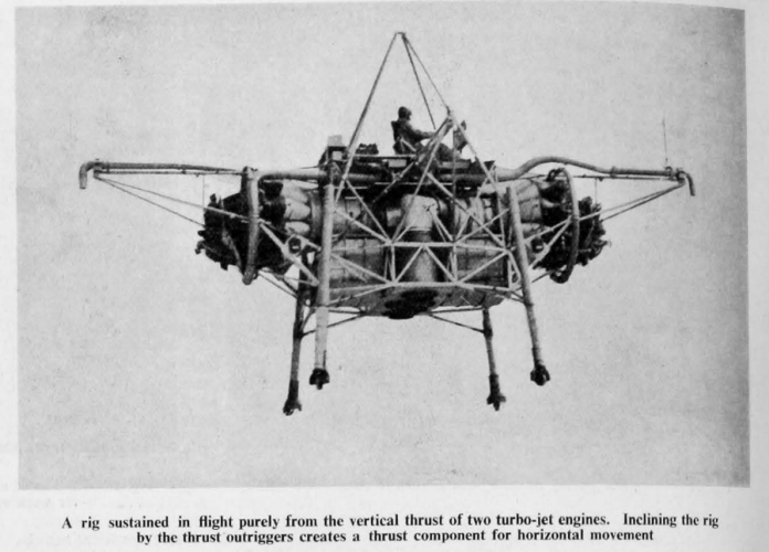 flying bedstead