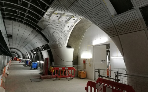 Engineering conundrum: The task of fitting out the Elizabeth Line