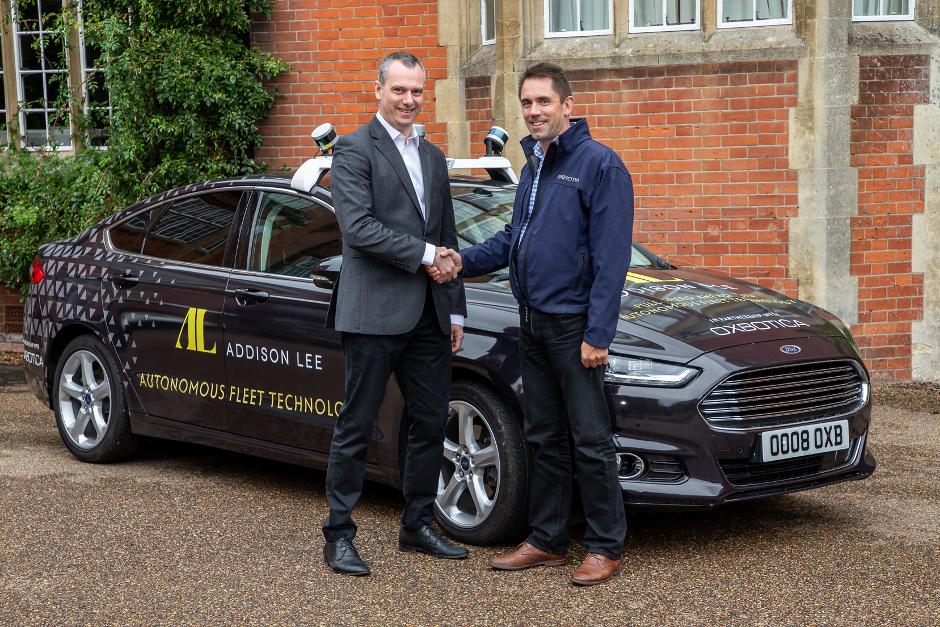 London set for autonomous ride sharing by 2021