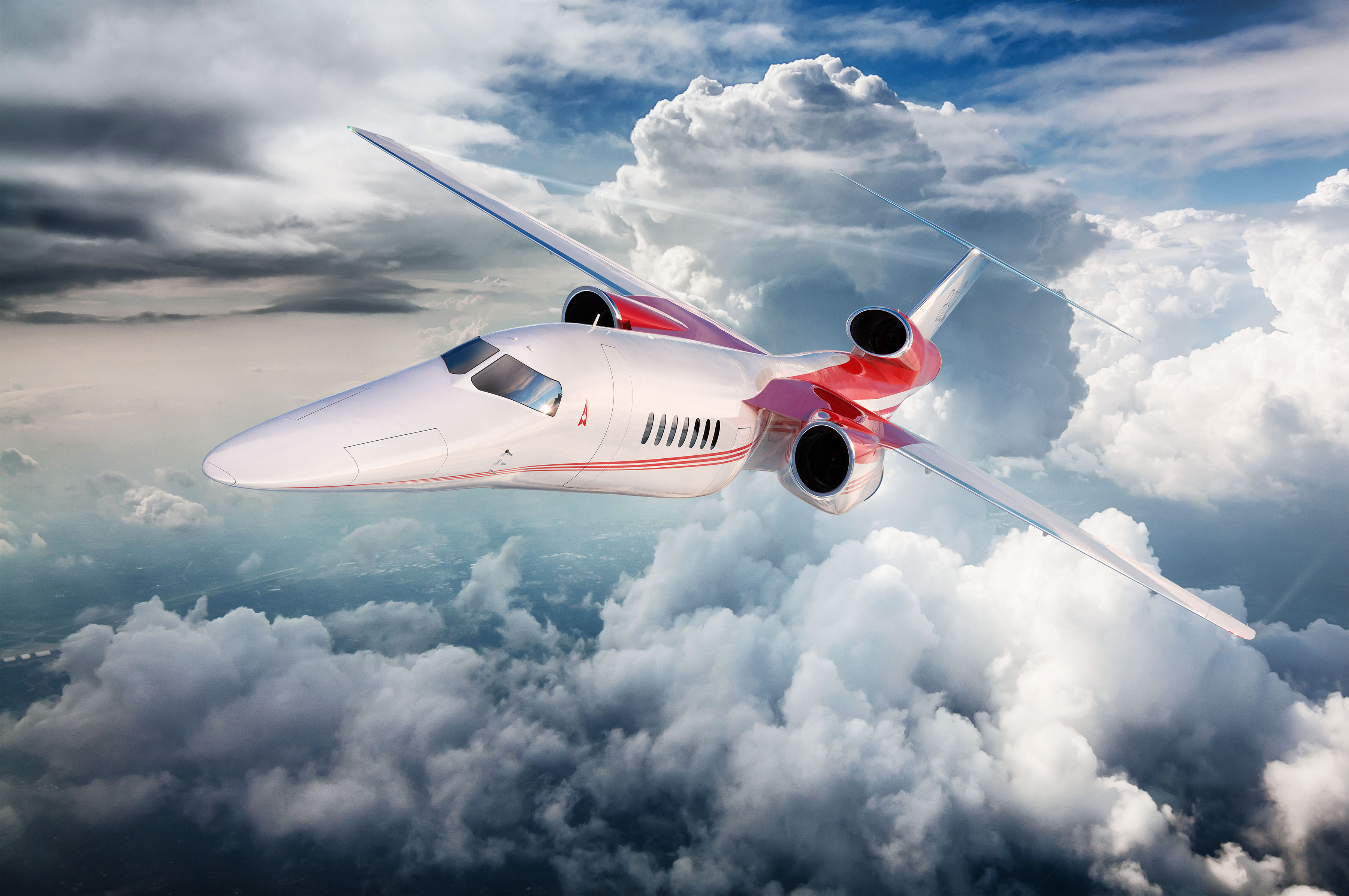 Ge Unveils Supersonic Affinity Engine For Aerion As2