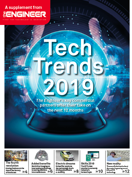 Tech Trends 2019 - the engineering year ahead The Engineer