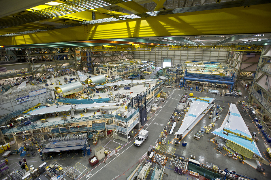 Boeing aims for waste reduction with ELG Carbon Fibre
