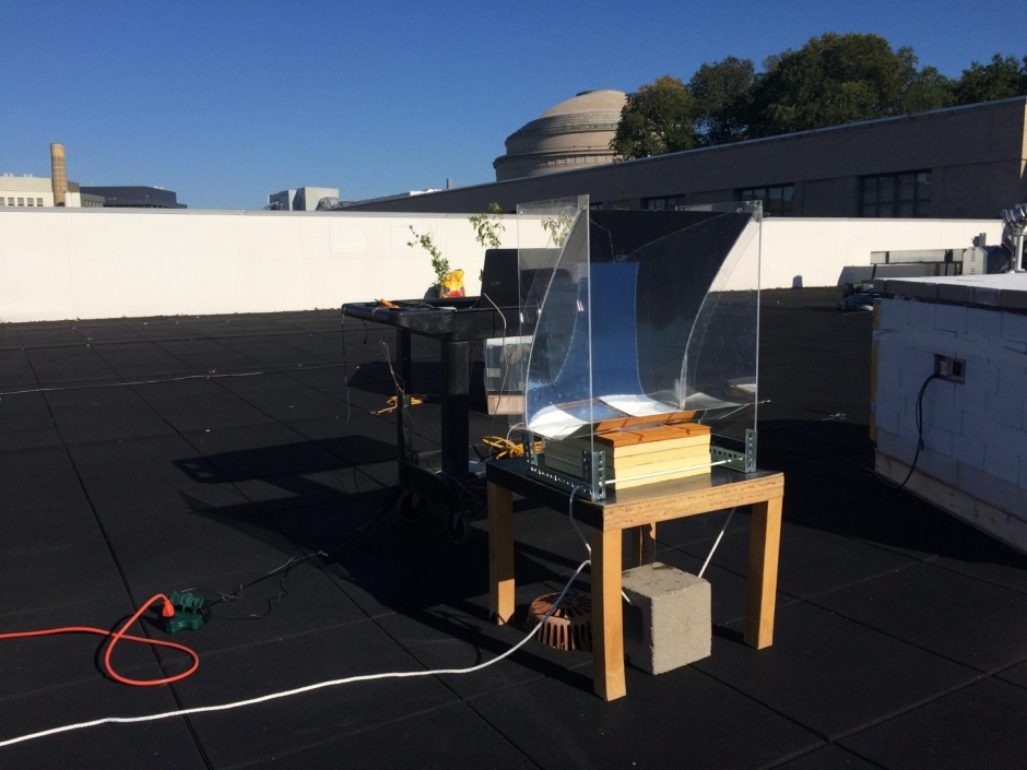 Passive solar heat device could be hygiene boon in remote