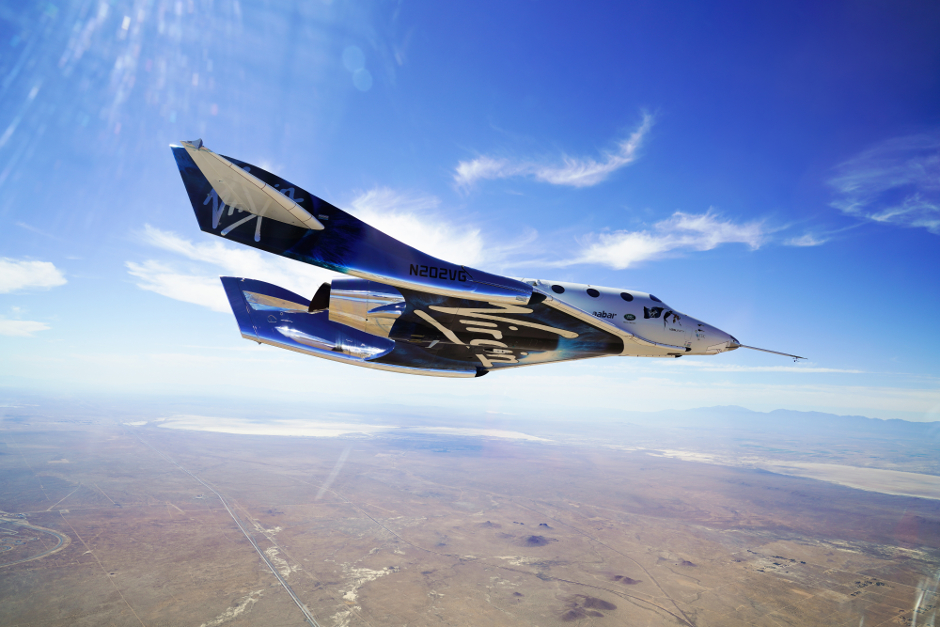 Virgin Galactic's first space flight is a soaring success""